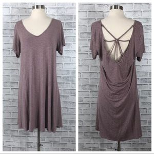 American Eagle Outfitters Open Back Shift Dress